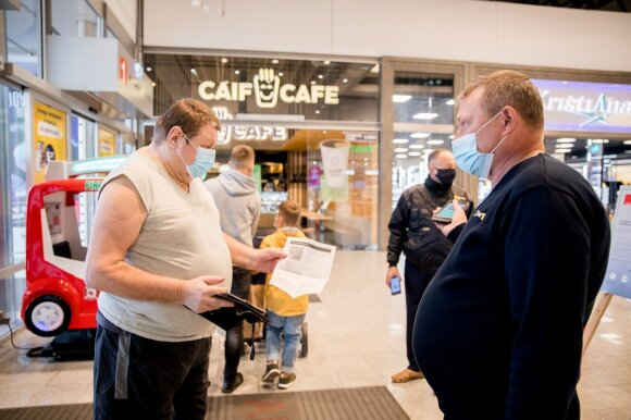 There have been some problems with the introduction of passport checks: residents have bought up before the restrictions
