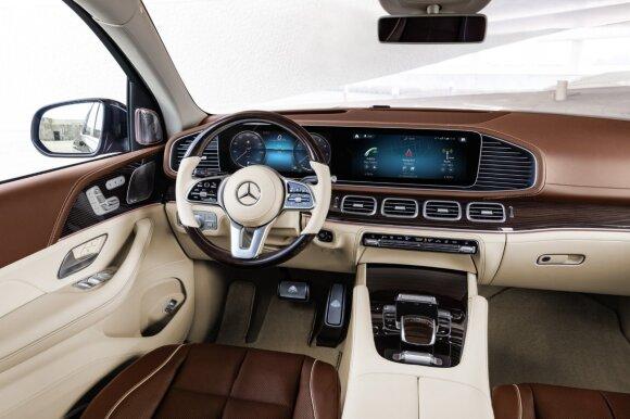 """Naujasis """"Mercedes-Maybach GLS"""""""