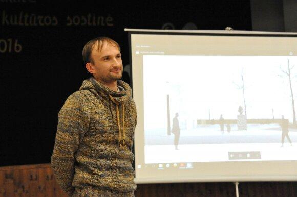 Merkinės krašto muziejaus vadovas Mindaugas Černiauskas