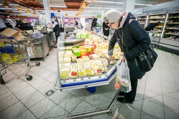 Lietuviai keičiasi – parduotuvėse nebeperka bet ko