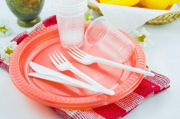 Plastikiniai indai