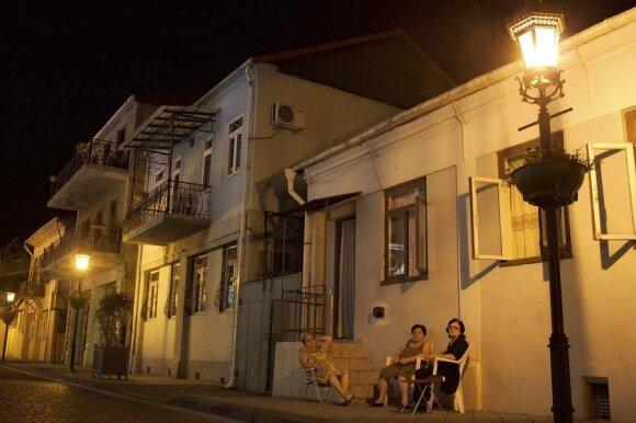 Batumis, rugsėjo pabaigos vakaras. Ramu, šilta...