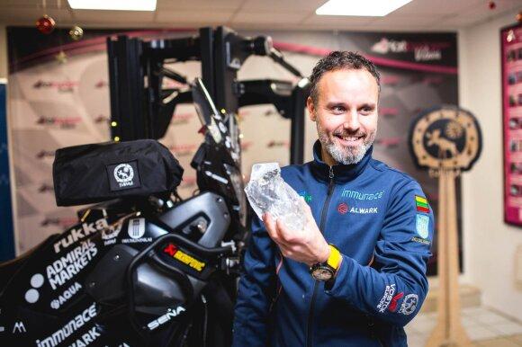 Karolis Mieliauskas motociklu važiuos į šalčiausią gyvenamą vietą žemėje