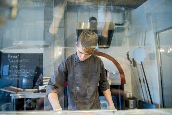 Aštuonis restoranus atidaręs virtuvės šefas: 7 eurai už picą yra normali kaina