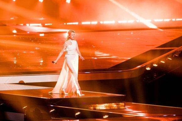 """Slovėnijos atstovė Ana Soklič, daina """"Amen"""""""