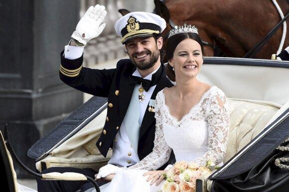 Princas Carlas Philipas ir princesė Sofia