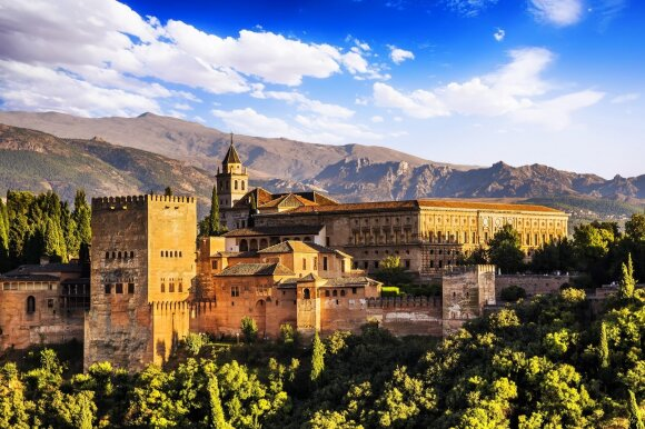 Alhambros rūmai