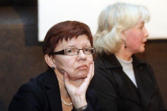 Kauno moterų draugijos pirmininkė Daiva Baranauskienė