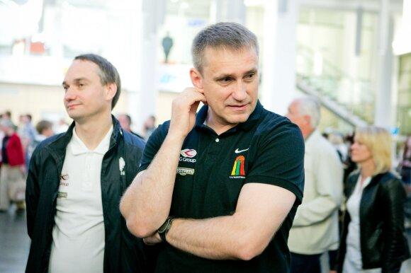Mindaugas Balčiūnas ir Kęstutis Kemzūra