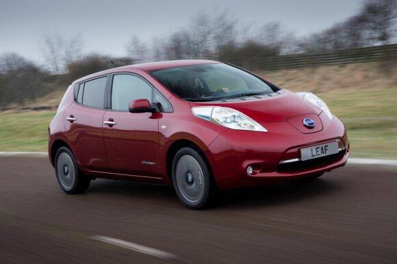 Palygino Lietuvoje parduodamus elektromobilius: kurių geriausias kainos ir kokybės santykis?
