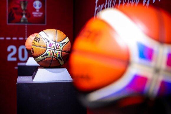 """Oficialus 2019 metų pasaulio krepšinio čempionato kamuolys """"Molten BG5000"""""""