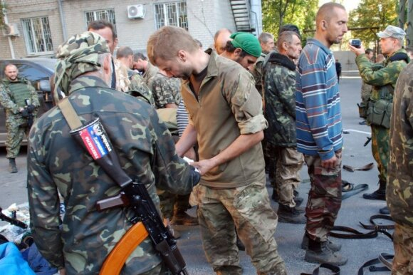 Žiauriai kankinta ukrainietė: maldavau, kad mane nušautų