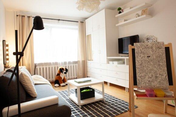Vieno kambario buto atnaujinimas