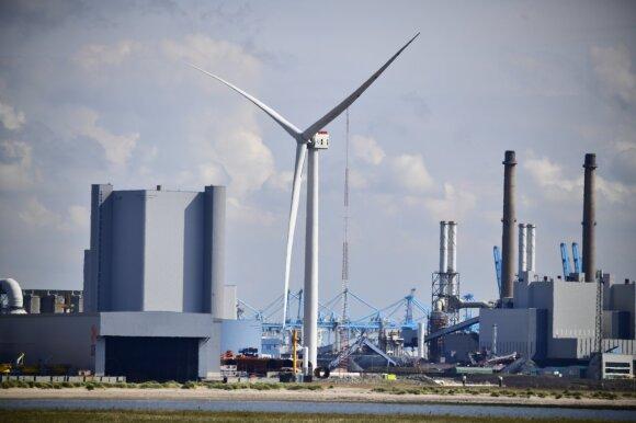 14 MW vėjo jėgainė. GE nuotr.