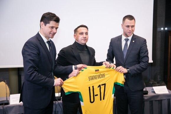 Audrius Statkevičius (viduryje)