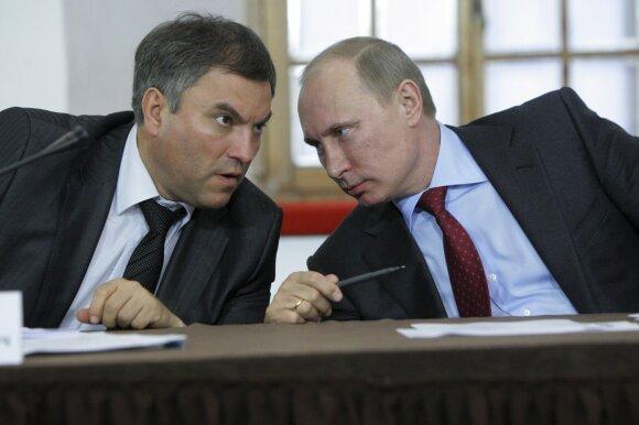 Вячеслав Викторович Оруэлл. Зачем Володин пытается заставить Украину платить за Крым