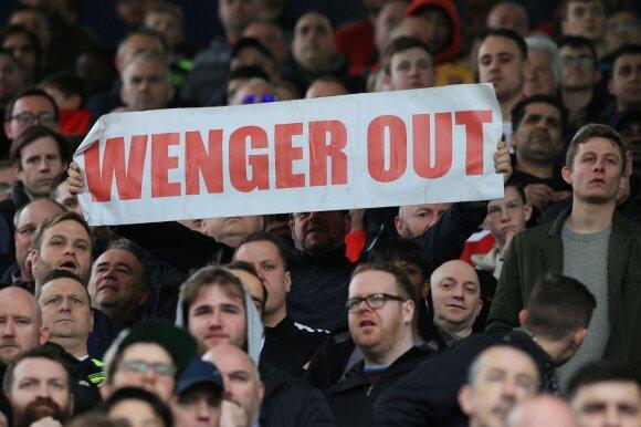 Premier lyga, West Bromwich Albion – Arsenal rungtynių akimirka