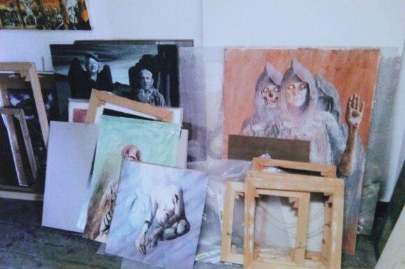 Aliutės Mečys studija Hamburge