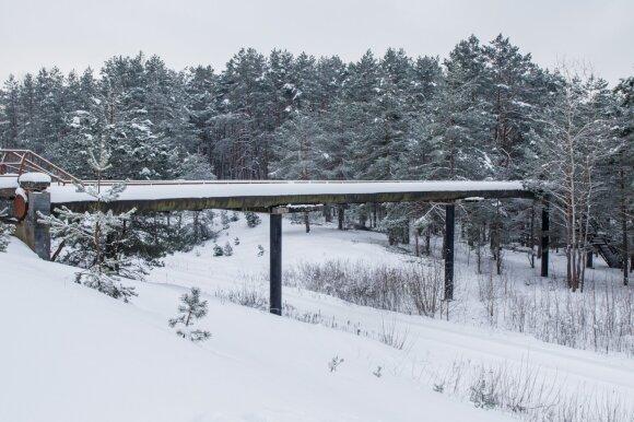 """Ant šio tilto Kaune filmavo """"Černobylį"""", bet ne visi kauniečiai žino, kur jis"""