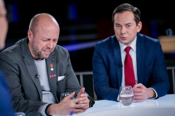 Jonas Ohman ir Arnoldas Pranckevičius