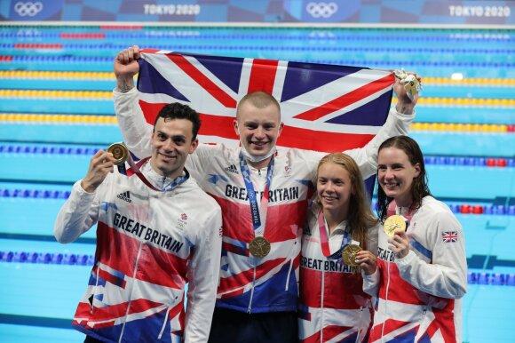 Didžiosios Britanijos plaukikai