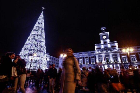 Kalėdų eglė Madride
