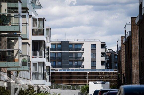 Nerimą kelianti tendencija NT rinkoje: lietuviai spjovė į butus ir renkasi visai ką kita