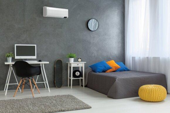 Kaip įveikti pragarišką karštį namuose: naujos kartos kondicionieriai stebina savo galimybėmis
