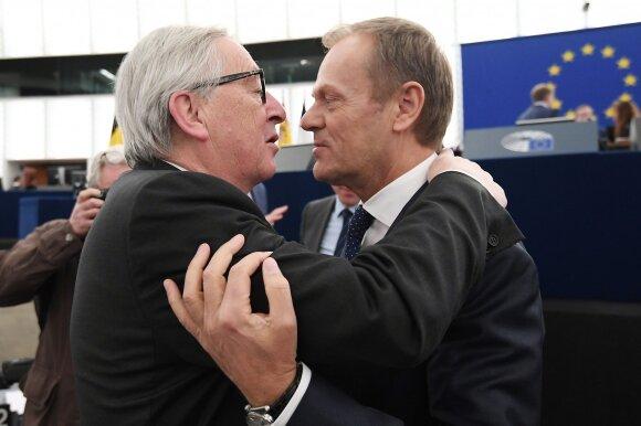 Jeanas-Claude'as Junckeris, Donaldas Tuskas