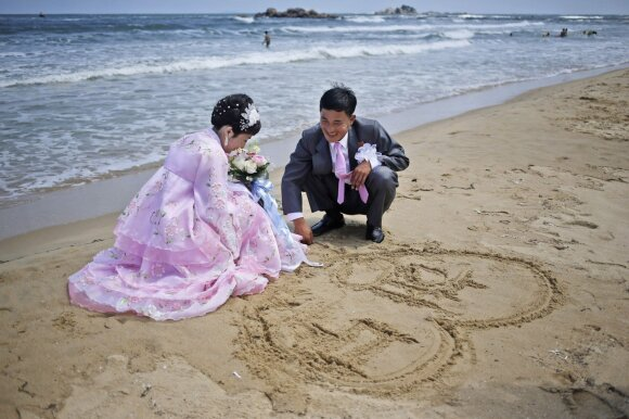 Šiaurės Korėjos kurortai vilioja rusus: pigi kelionė, tušti paplūdimiai ir specialūs viešbučiai komunistams