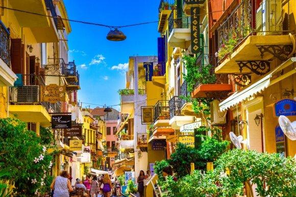 Chanios senamiestis, Kreta