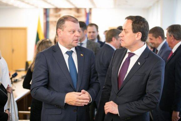 Saulius Skvernelis, Valdemaras Tomaševskis