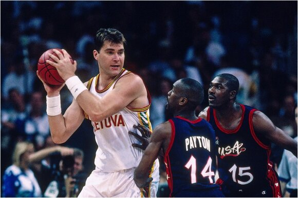 Arvydas Sabonis 1996 m.