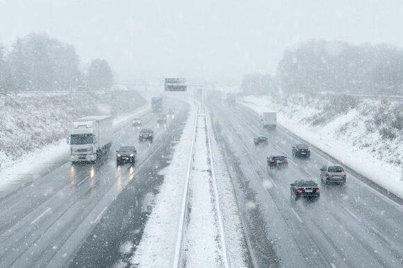 Kelių priežiūra žiemą