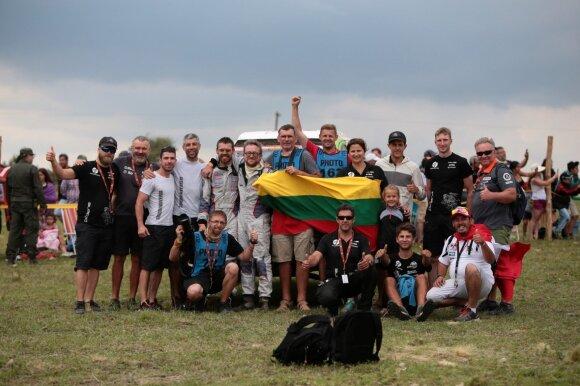 """""""Agrorodeo"""" komanda 2018 m. Dakaro ralyje"""