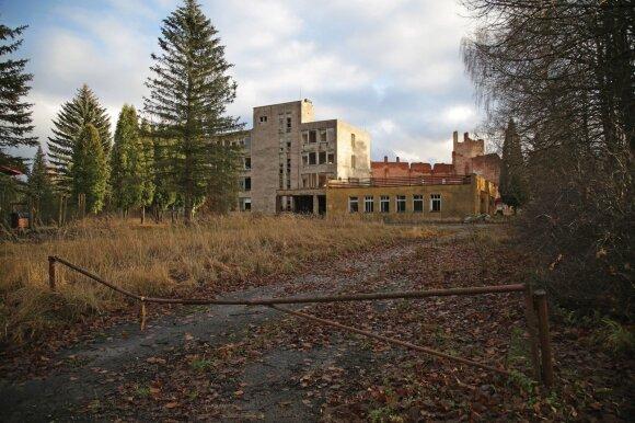 pastatai vaiduokliai