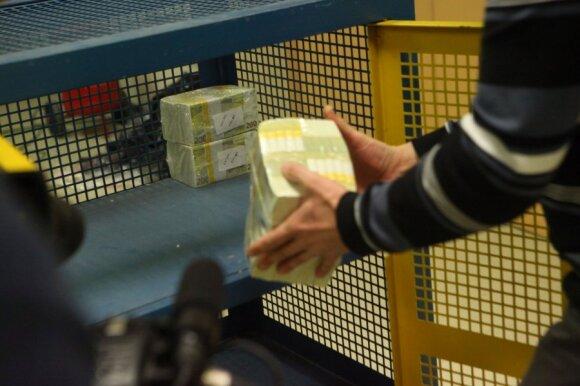 Naujai eurų siuntai – ypatinga apsauga
