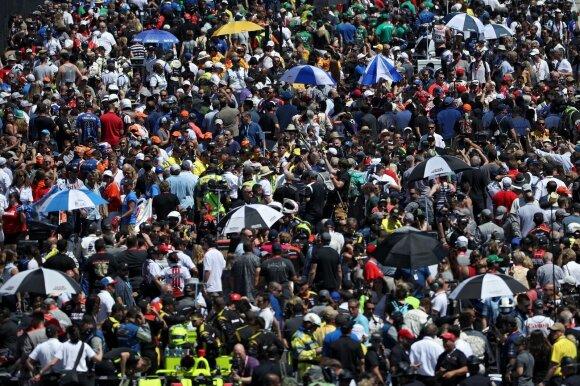 Indy 500 lenktynių žiūrovai