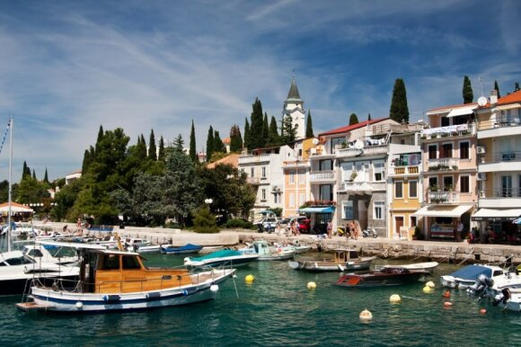Selce miestelis, Kroatija
