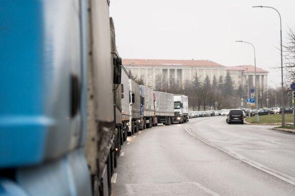 Lietuvos vežėjai nerimauja, kad baigsis blogiau nei po 2008 m. krizės