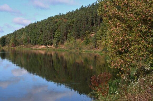 Neries upė kitapus Gegužinės