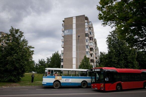 "Ekskursija po serialo ""Černobylis"" filmavimo vietas Vilniuje"