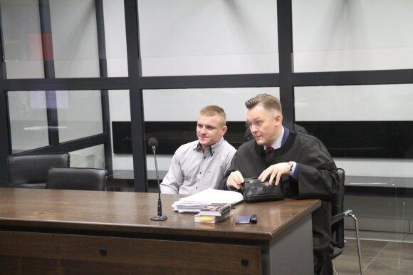 Boksininkas Evaldas Petrauskas Kauno apygardos teisme