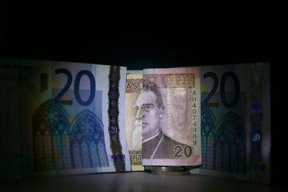 Lietuviai euro naudos neįžvelgia ir toliau jį kaltina dėl išaugusių kainų