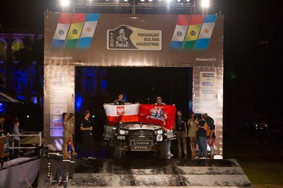 B. Vanagas ir S. Rozwadowskis ant podiumo