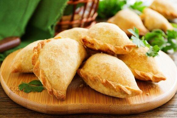 Savaitgalio pietums - sultingi naminiai kibinai