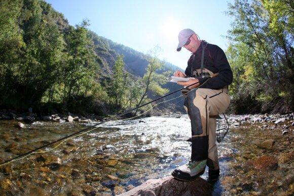 Upėtakių žvejyba
