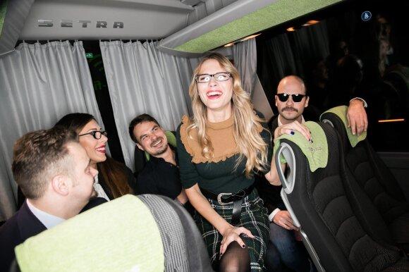 Naujos lietuviškos komedijos premjeroje – autobusu į Kauną atvykusi kviestinė publika