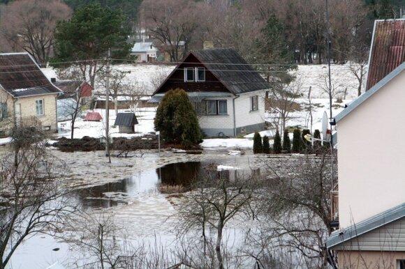 Potvynis Kauno r.
