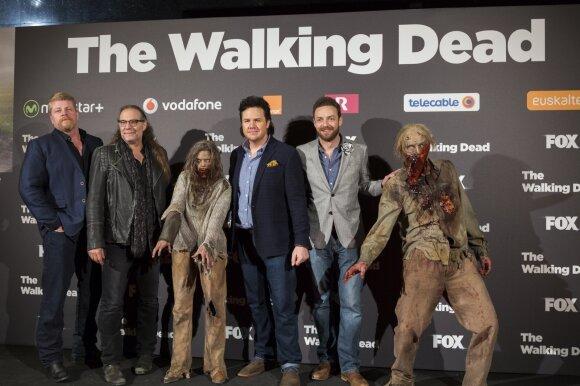 "Serialo ""The Walking Dead"" šeštojo sezono antrosios dalies pristatymo renginys"